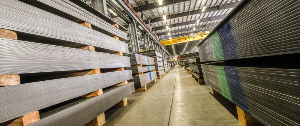 Metal Sheets, Warehouse Steel